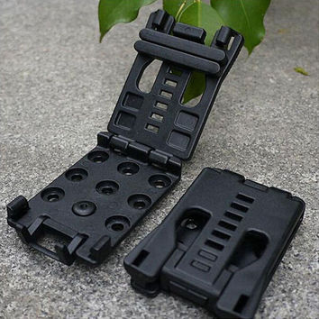 New EDC Multi Function K Sheath Scabbard Belt Clip Waist Clamp Utility Outdoor Camp Portable Tools