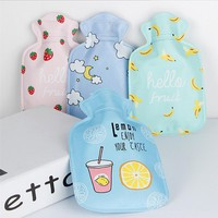 17x11cm Cute Cartoon Kawaii Novelty Rubber Hand Feet Warming Water-filling Hot Water Bag Explosion-Proof Bottles