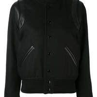 Saint Laurent Classic Teddy Jacket - Farfetch