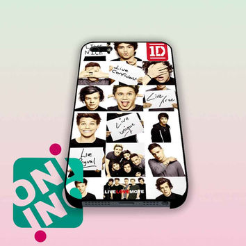 Funny 1D One Direction Collage iPhone Case Cover | iPhone 4s | iPhone 5s | iPhone 5c | iPhone 6 | iPhone 6 Plus | Samsung Galaxy S3 | Samsung Galaxy S4 | Samsung Galaxy S5