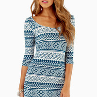 Tracy Tribal Dress $29