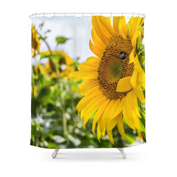 Best Sunflower Shower Curtain Products On Wanelo