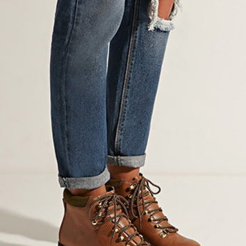 Eeight Madison Lace-Up Boots