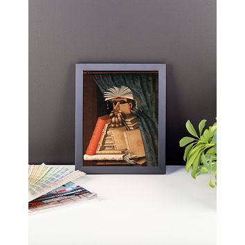 GIUSEPPE ARCIMBOLDO The Librarian Framed Poster