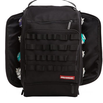 Graffiti Utility Black Hawk Backpack (SPRAYGROUND)