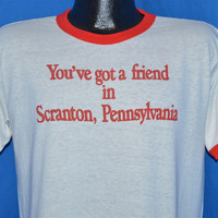80s You've Got a Friend in Scranton Pennsylvania t-shirt Large