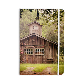 "Angie Turner ""Shabby Chic Barn"" - Nature Photography Everything Notebook"
