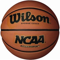 Wilson NCAA Super Grip-Intermediate Basketball, Orange