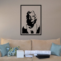 Marilyn Monroe Wall Decal Large 17 x 25 Inches