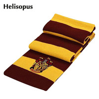 2016 Fashion Winter Scarves Harry Potter Scarf Scarves Knit Scarves Cosplay Costume Gift for Teenagers