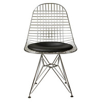 Eames Wire Chair w/ seat pad - DKR.5 - Design Within Reach