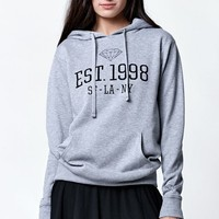 Diamond Supply Co 1998 Pullover Hoodie - Womens Hoodie - Grey
