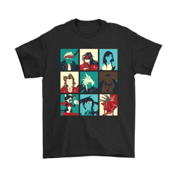 QIYIF Final Fantasy VII The Nine Main Characters Shirt