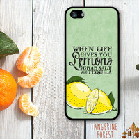 When Life Gives You Lemons...Grab Salt & Tequila!. iPhone 4 // 4s // 5 // 5s // 5c Case