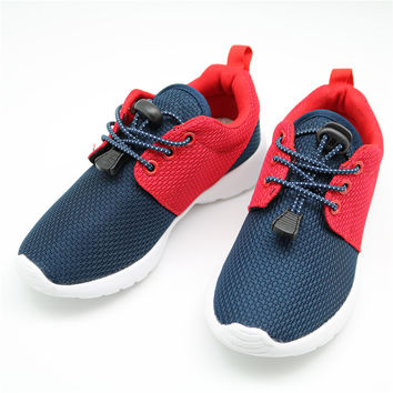 CNOHEHOK Children Casual Shoes Elastic Lace Light Weight Mesh Kids Shoes Boys Girls Sneakers Breathable Sport Shoes