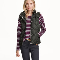 Quilted Vest - from H&M