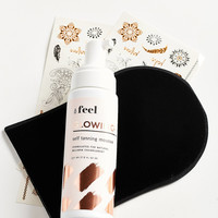 Feel Glowing Self-Tanning Mousse + Applicator | Urban Outfitters