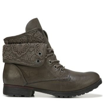 Women's Spraypaint Lace Up Boot