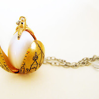 PRE-ORDER Harry Potter Cedric Diggory Triwizard Tournament gold dragon egg locket, Harry Potter necklace jewelry, Gryffindor, Hufflepuff