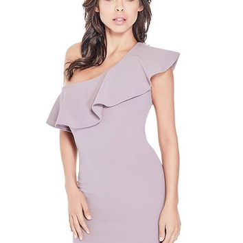 Bella One-Shoulder Dress at Guess
