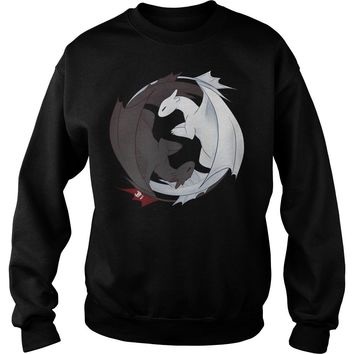 Toothless and the Light Fury t shirt Sweat Shirt