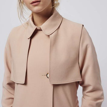 PETITE Lightweight Belted Truster - Topshop