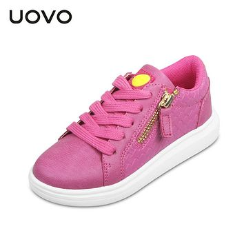 Casual girl shoes outdoor kids sport shoes Lace up Girls designer shoes Glitter footwears