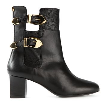 Moschino Cheap & Chic buckle detail boots