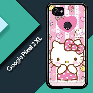 Hello Kitty Candy Pink L1944 Google Pixel 2 XL Case