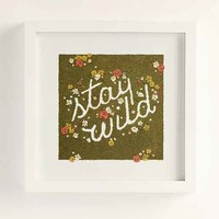 Plum & Bow Stay Wild Framed Wall Art