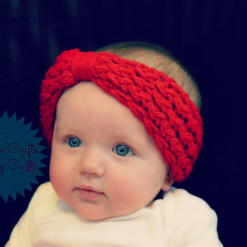 Knit Ear Warmer Headband for Babies and Toddlers