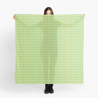 Green Triangle Abstract Pattern by DonCorgi