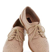 Trips of the Trade Flat in Rose Quartz | Mod Retro Vintage Flats | ModCloth.com