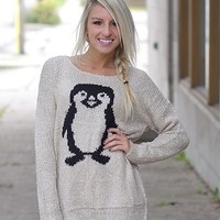 Happy Feet Penguin Sweater - Piace Boutique