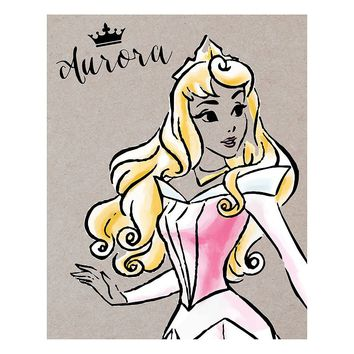 Disney Princess Aurora Fashionista Canvas From Kohl S