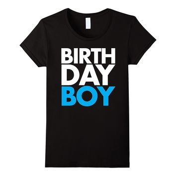 Birthday Boy Blue Party T-Shirt Men's- Women's- & Youth