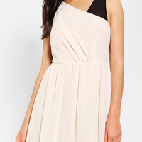 Pins And Needles Chiffon Colorblock Dress