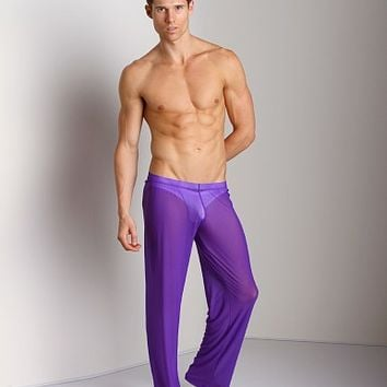 N2N Pride Sheer Pants Purple GP2 at International Jock Underwear & Swimwear