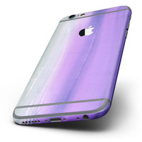 The Lined Purple 443 Absorbed Watercolor Texture Six-Piece Skin Kit for the iPhone 6/6s or 6/6s Plus