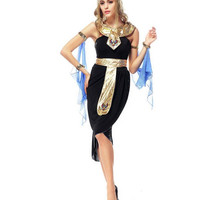 Halloween Arab Goddess Dress Game Uniforms Latin Egyptian Clothing Cosplay Party Dancer DS Nightclub Costume Stage Wear