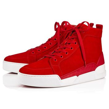 Christian Louboutin CL Red Fashion casual Sneakers Shoes