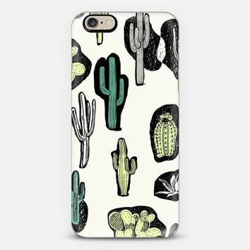 MOTEL CACTUS PRINT - SOLID iPhone 6 case by Motel Rocks | Casetify