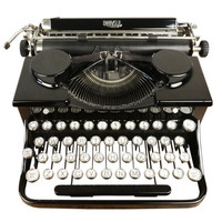 Stunning Vintage 1931 Royal Portable Typewriter, Refurbished