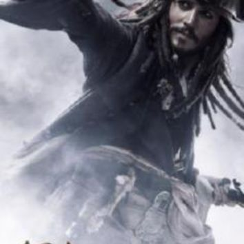 Pirates Of The Caribbean Johnny Depp Movie Poster 16inx24in