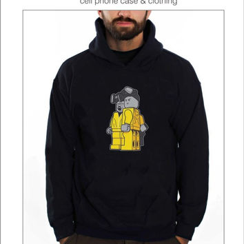 Breaking Bad Lego Hoodies in Black, Gray and Red Colors