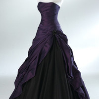 Prom dresses A-line ball gowns taffeta/organza Dress Bridesmaid Dress Evening Prom Dress