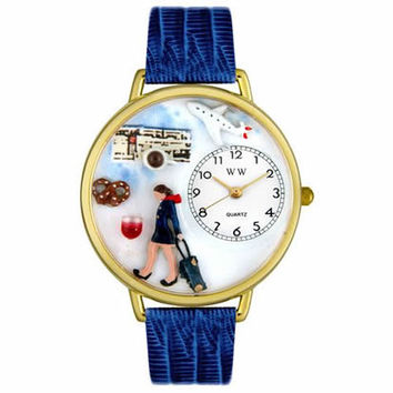 Flight Attendant Watch in Gold (Large)