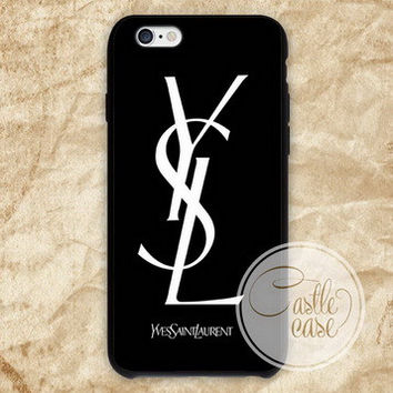 Yves Saint Laurent YSL phone case iPhone 4/4S, 5/5S, 5C Series, Samsung Galaxy S3, Samsung Galaxy S4, Samsung Galaxy S5 - Hard Plastic, Rubber Case