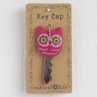 Hot  Pink  Owl  Key  Cap  From  Natural  Life