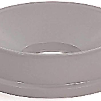 Untouchable® Round Funnel-top Trash Can Lid For Untouchable® Containers, Gray, 16.2""